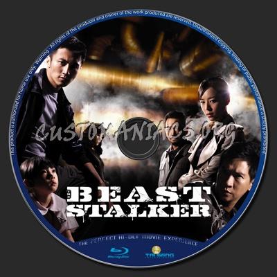 The Beast Stalker blu-ray label