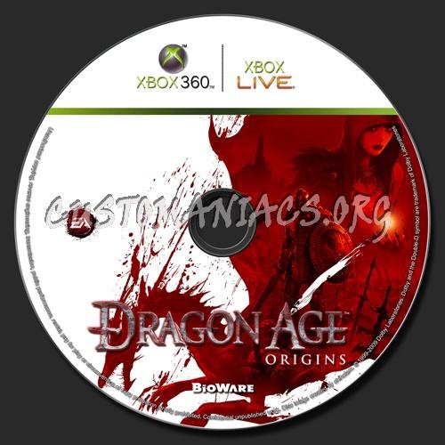 Dragon Age Uldred. Dragon Age: Origins dvd label