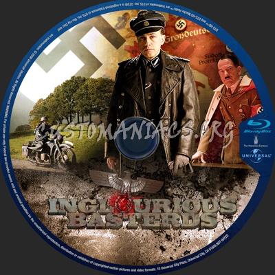 Inglourious Basterds blu-ray label