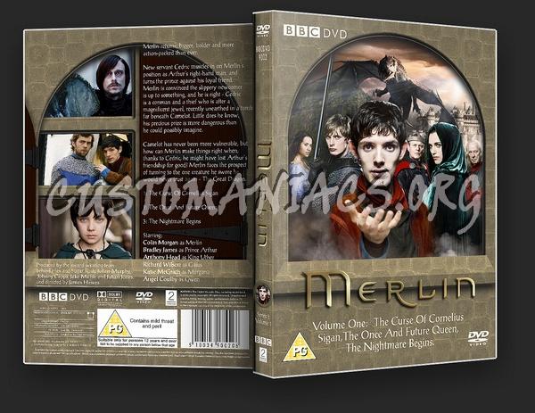 Merlin (BBC TV) Series 2 dvd cover