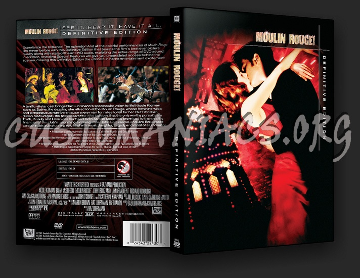Moulin Rouge Definitive Edition dvd cover