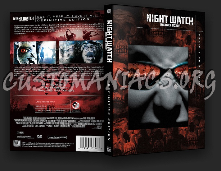 Night Watch Definitive Edition dvd cover