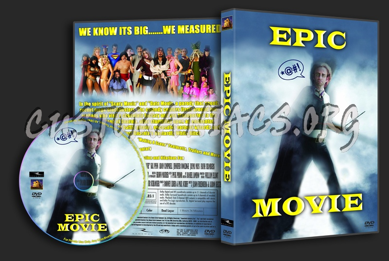 Epic Movie dvd cover