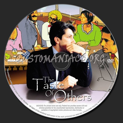 The Taste of Others dvd label
