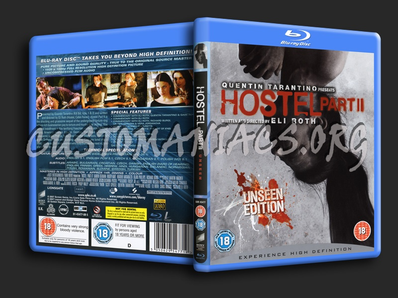 Hostel Part II blu-ray cover