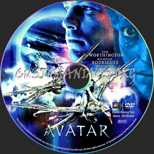 Avatar Dvd: DVD Covers & Labels By Customaniacs, Id