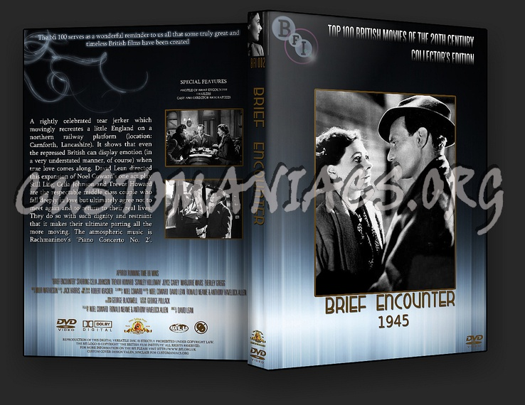 Brief Encounter - The BFI Collection dvd cover