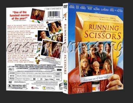 Running With Scissors dvd cover