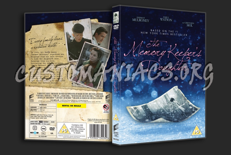 The Memory Keeper S Daughter Quotes: DVD Covers & Labels By Customaniacs