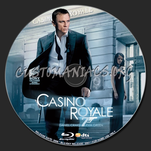 Casino Royale blu-ray label