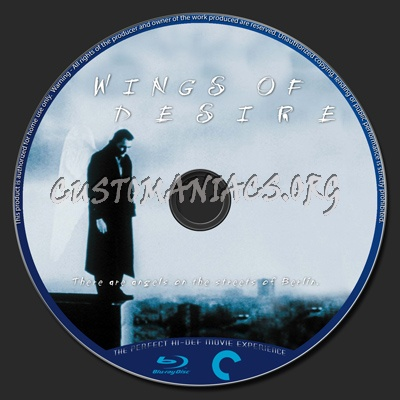 490 - Wings Of Desire dvd label