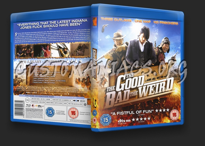 The Good The Bad The Weird blu-ray cover
