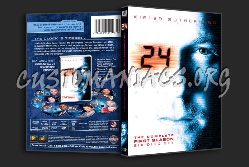 24 Season 1 dvd cover