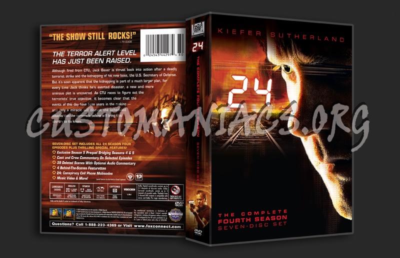 24 Season 4 dvd cover
