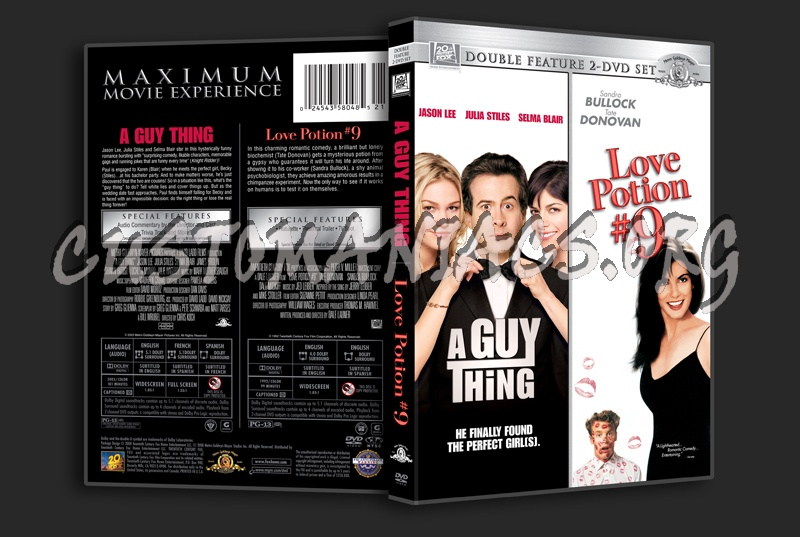 A Guy Thing / Love Potion #9 dvd cover