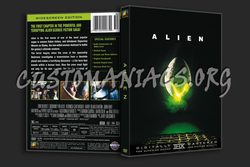 Alien dvd cover