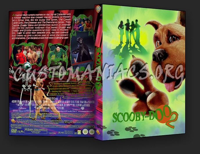 Scooby Doo 2 Monsters Unleashed Dvd Cover Dvd Covers Labels By Customaniacs Id 79837 Free Download Highres Dvd Cover