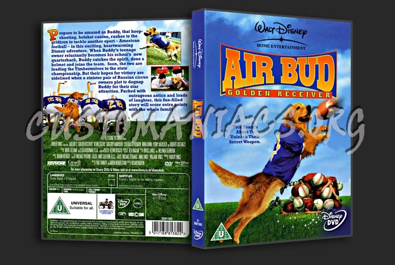 Air Bud Golden Receiver dvd cover