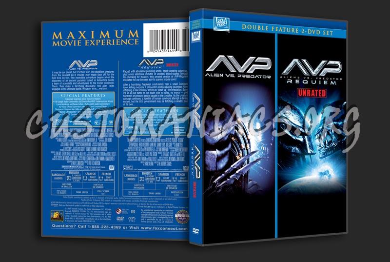 Alien vs Predator / Aliens VS Predator Requiem dvd cover
