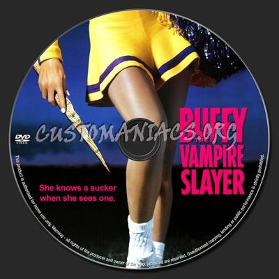 Buffy the Vampire Slayer dvd label