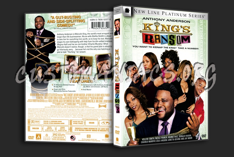King's Ransom dvd cover