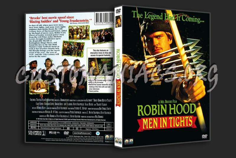 Robin Hood Men in Tights dvd cover