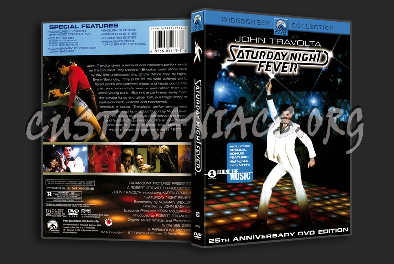 Saturday Night Fever dvd cover