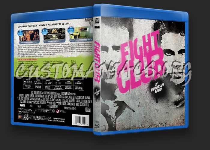 Fight Club blu-ray cover