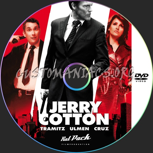 Jerry Cotton dvd label