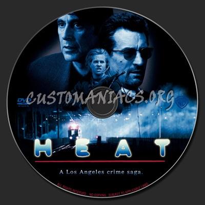 Heat dvd label