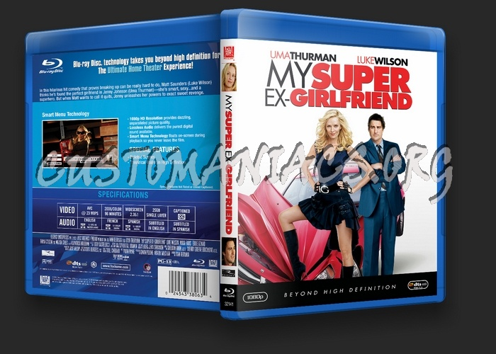 My Super Ex-Girlfriend blu-ray cover