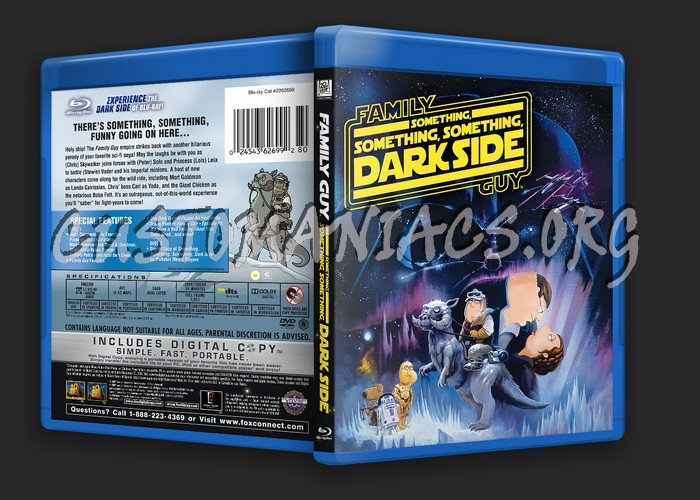 Family Guy Something, Something, Something Dark Side blu-ray cover