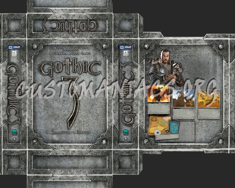 Gothic dvd cover