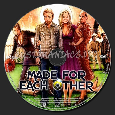 Made for Each Other dvd label