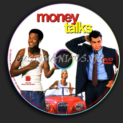 Money Talks dvd label