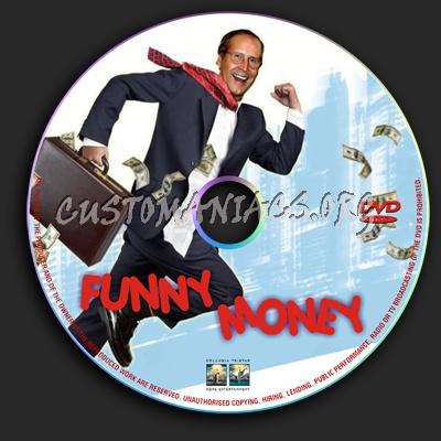 Funny Money dvd label