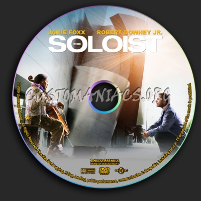 The Soloist dvd label