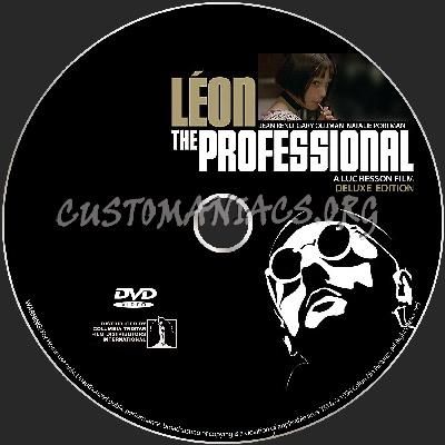 Leon The Professional dvd label