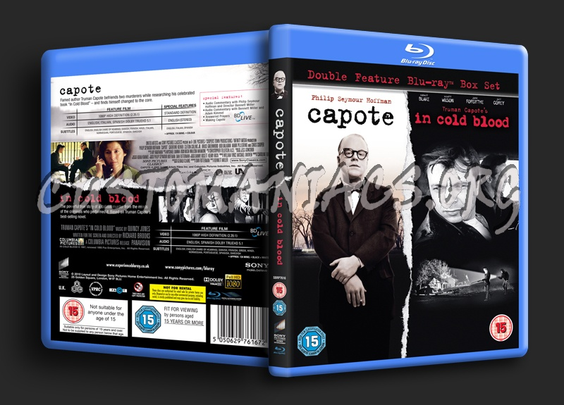 In Cold Blood Quotes And Page Numbers: Capote / In Cold Blood Blu-ray Cover