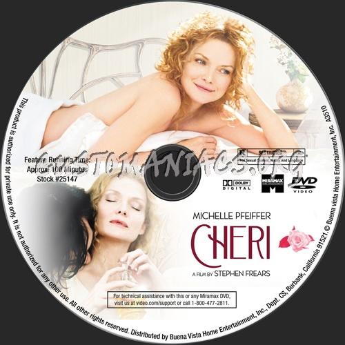 Cheri dvd label
