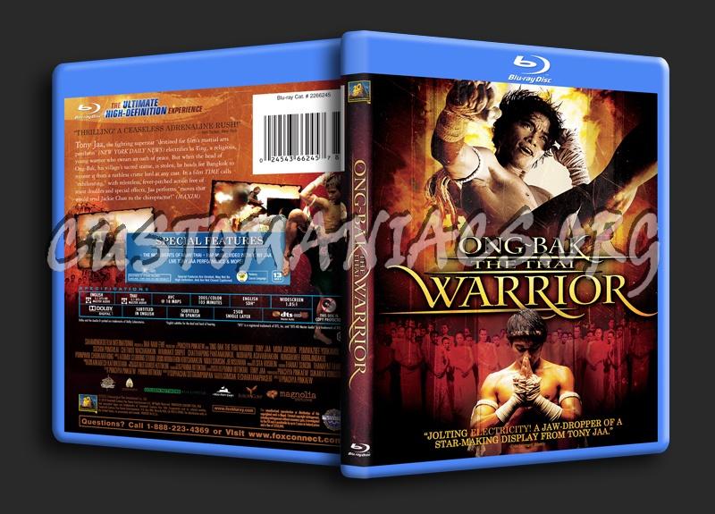 Ong-Bak The Thai Warrior blu-ray cover