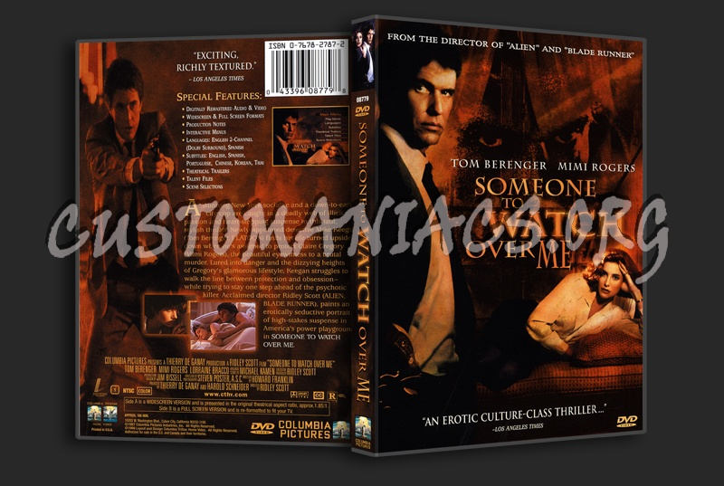Someone To Watch Over Me dvd cover