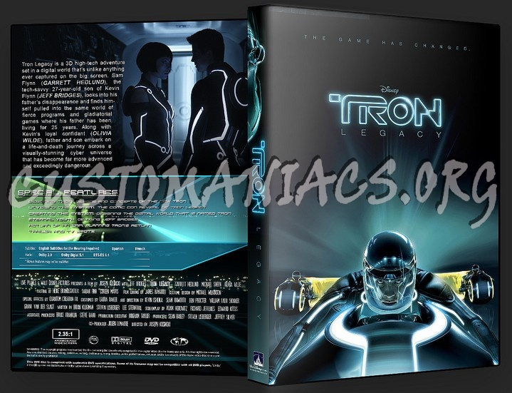 Tron Legacy dvd cover