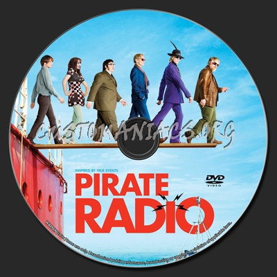 Pirate Radio - The Boat That Rocked dvd label - DVD Covers