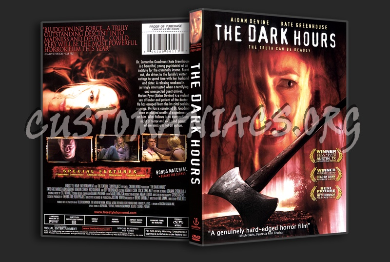 The Dark Hours dvd cover