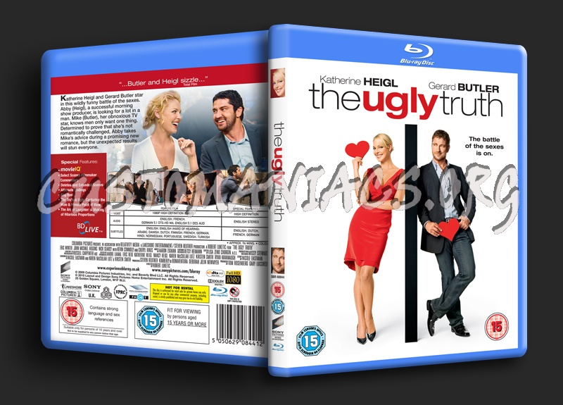 The Ugly Truth blu-ray cover