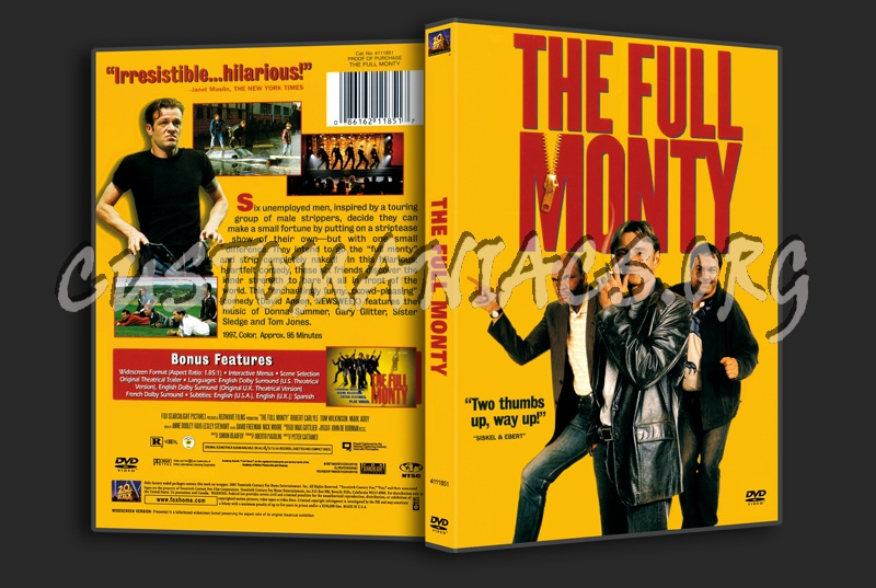 The Full Monty dvd cover