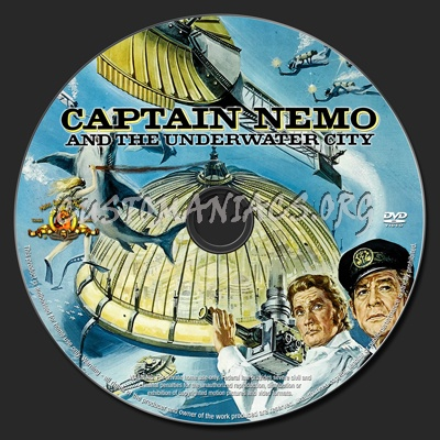 Captain Nemo and the Underwater City dvd label