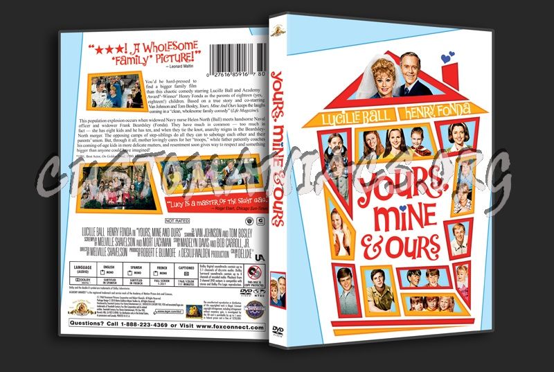 Yours, Mine & Ours dvd cover
