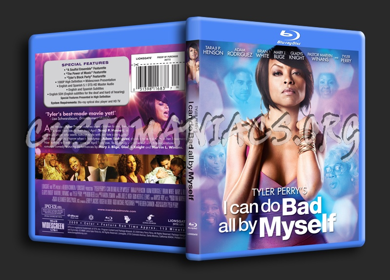 I Can Do Bad All by Myself blu-ray cover